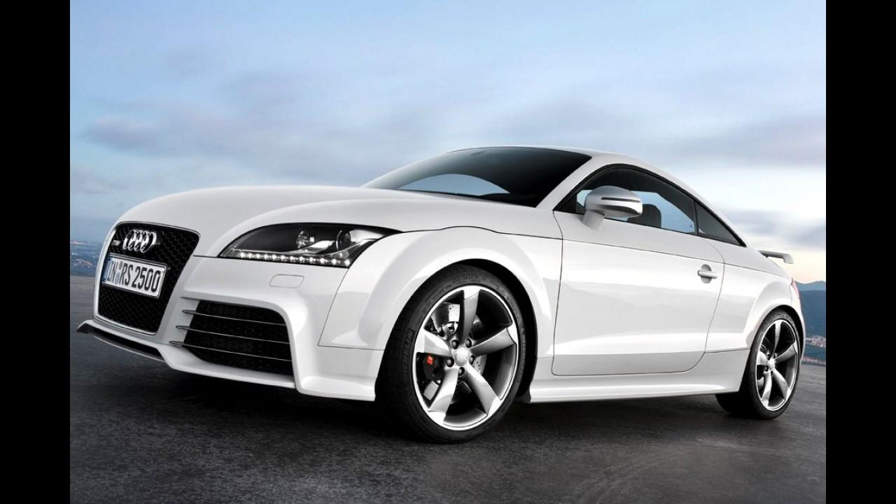 Flagra: novo Audi TT RS é clicado