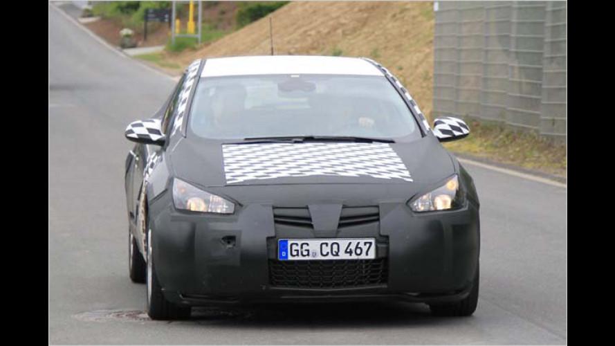 Opel Astra GTC: Erlkönig-Bilder vom kompakten Dreitürer