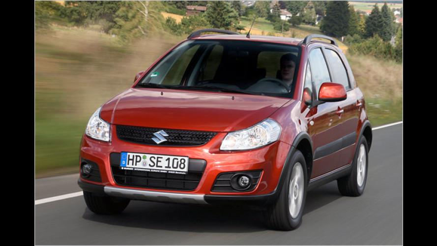 Suzuki SX4 im Test: Mehrwert mittels Facelift?