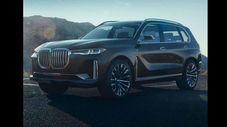 Ezt kicsit túltolták: kiszivárogtak a BMW X7 koncepció fotói