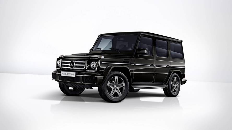 Mercedes G-Serisi Limited Edition