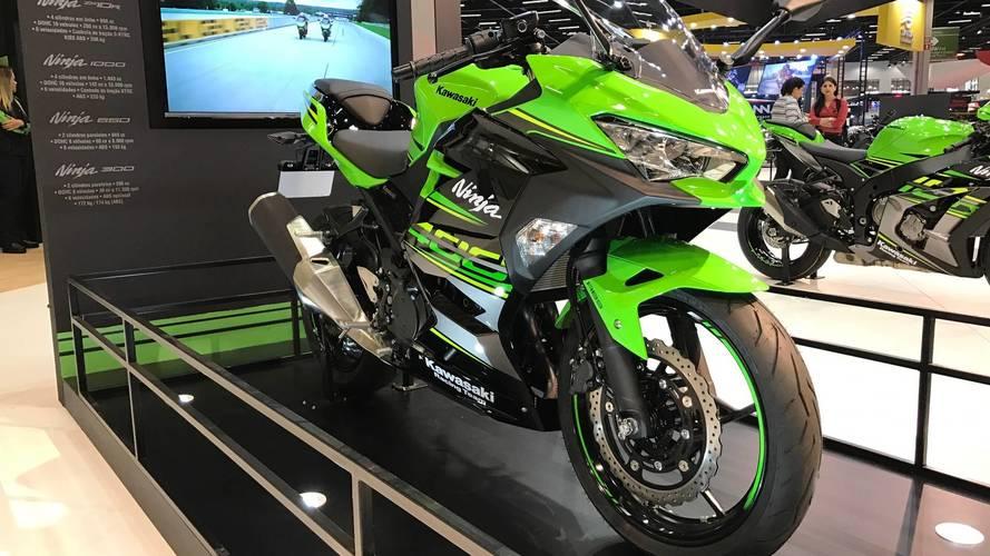 Salão Duas Rodas - Kawasaki antecipa Ninja 400 e Z900