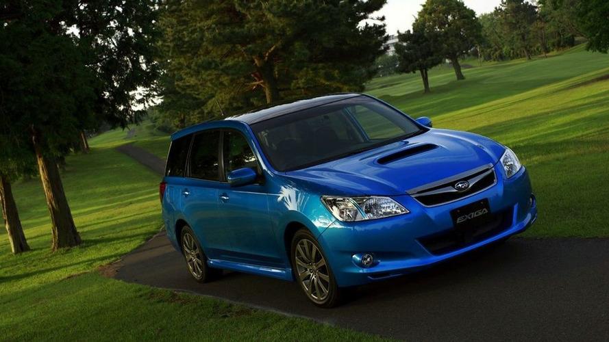 Subaru Exiga in Detail