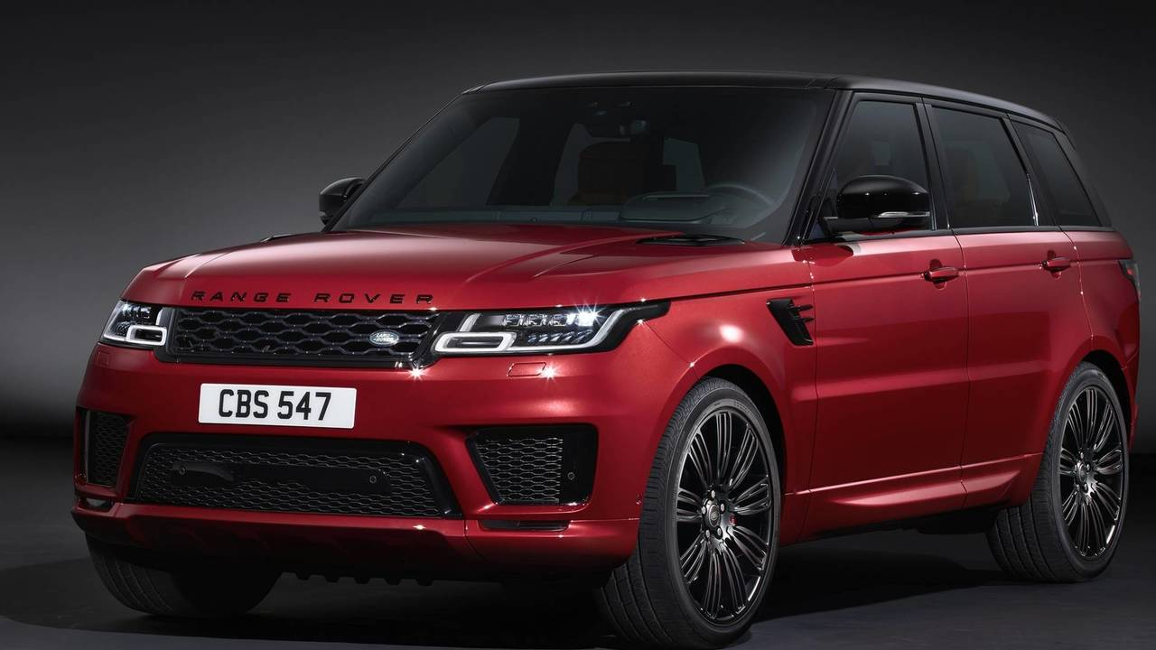 2019 range rover sport debuts plug in hybrid more powerful svr. Black Bedroom Furniture Sets. Home Design Ideas