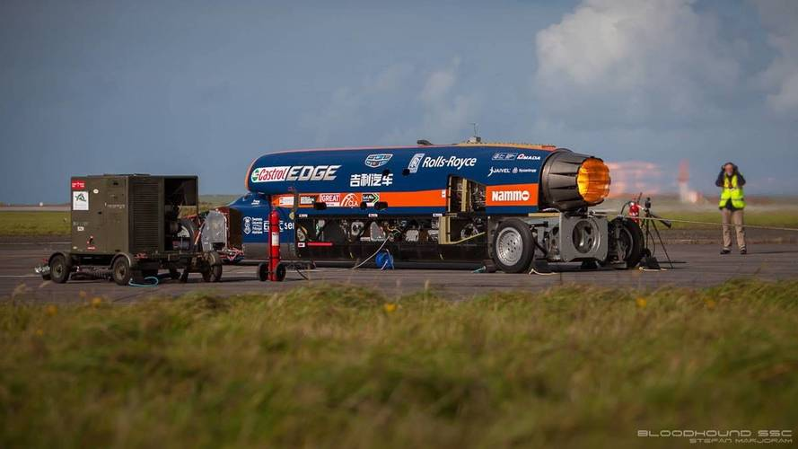 Bloodhound SSC 200mph run: how it happened