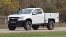 Chevrolet Colorado ZR2 Utility Spy Photos