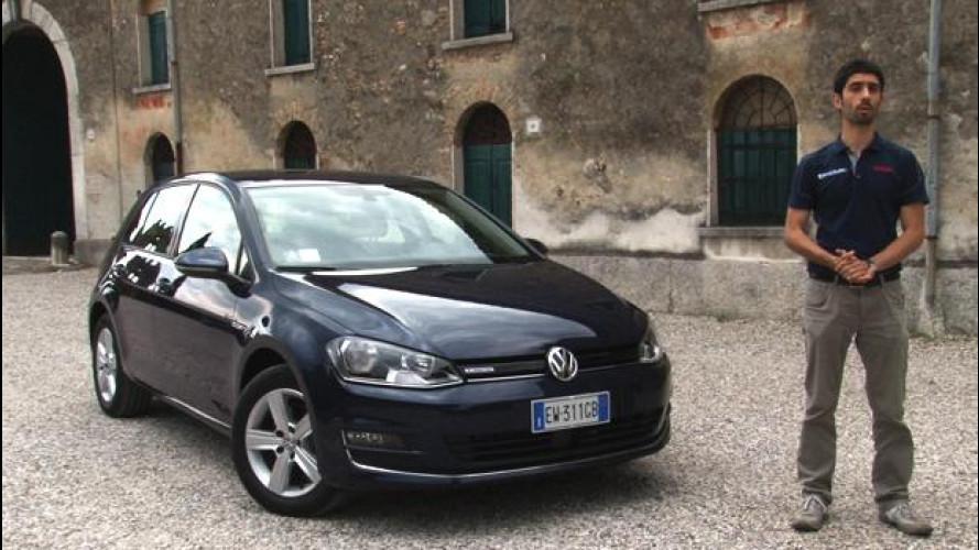 Volkswagen Golf TGI, l'auto a metano per tutti? [VIDEO]