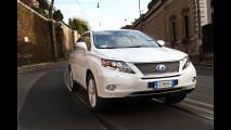 Lexus RX 450h Hybrid, il SUV che rigenera energia