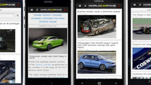 Worldcarfans app available on iPhone, Android and coming soon to Windows Phone