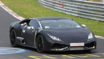 Lamborghini Cabrera spy photo