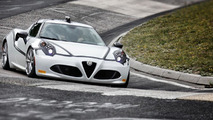 Alfa Romeo 4C at Nurburgring