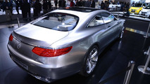 Mercedes-Benz Concept S-Class Coupe live at 2014 NAIAS