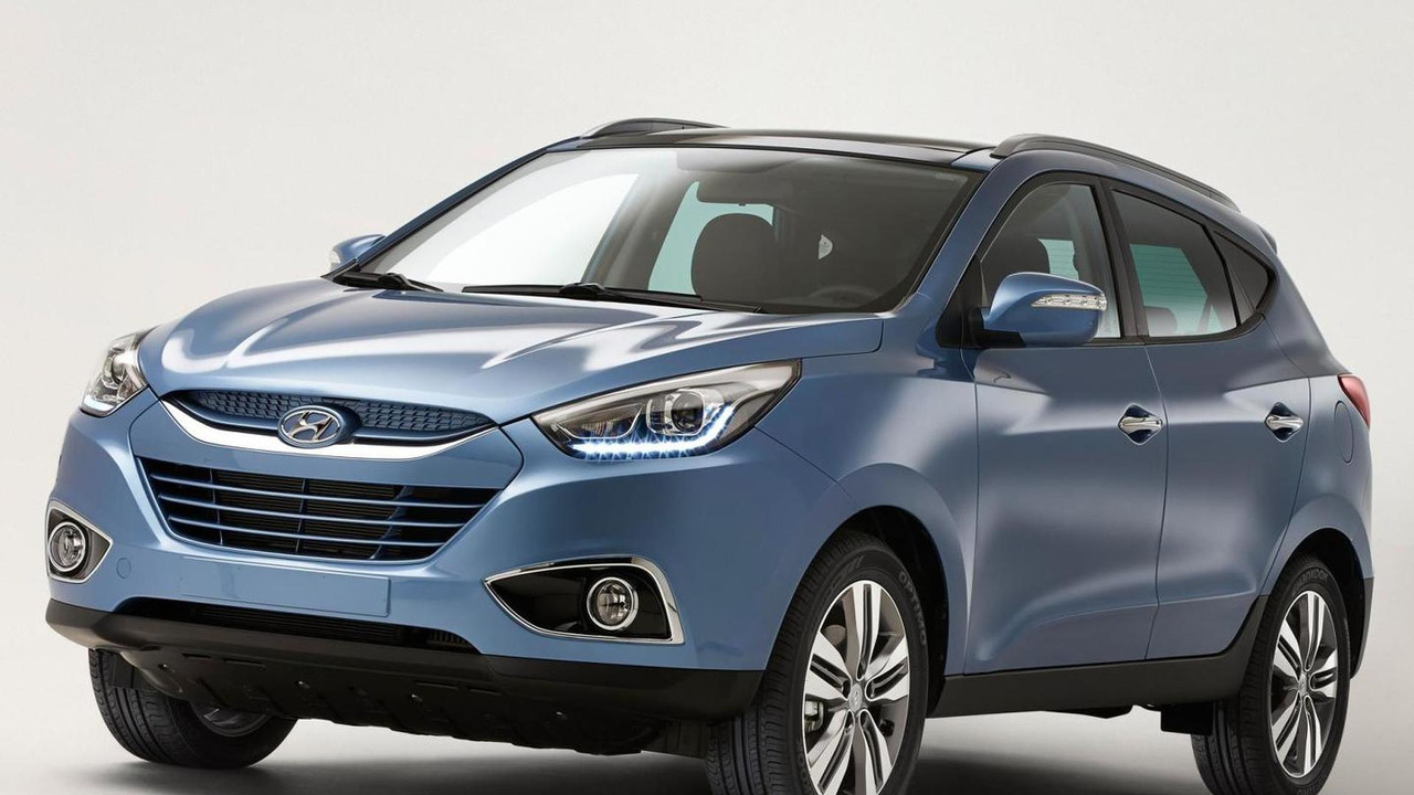 2013 Hyundai ix35 facelift leaked official photo
