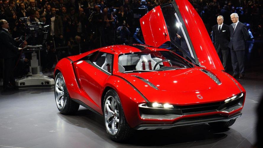 Lamborghini powered Giugiaro Parcour hits the track [video]