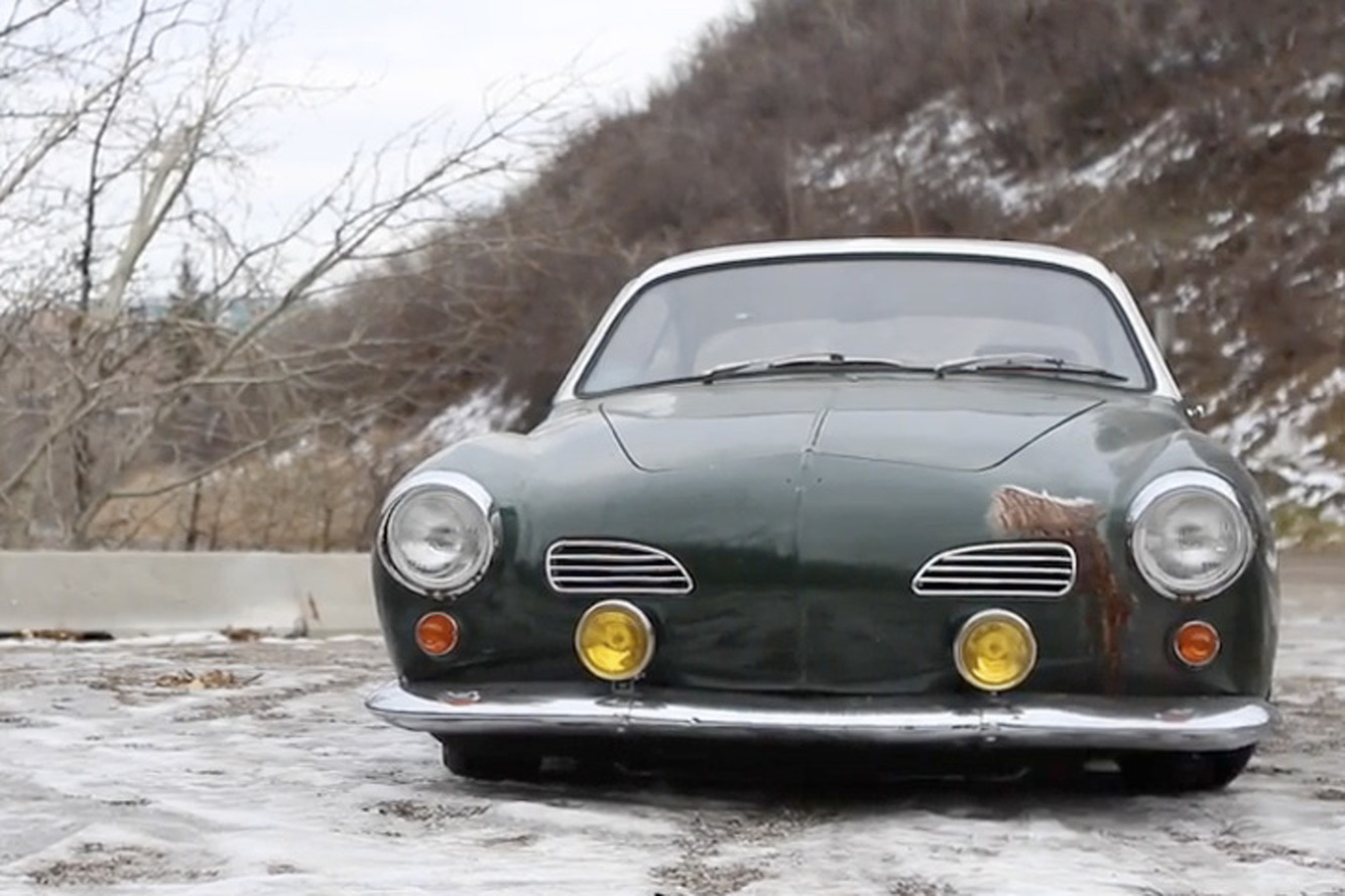 Subaru Swapped Karmann Ghia is one 'Cool' Daily Driver