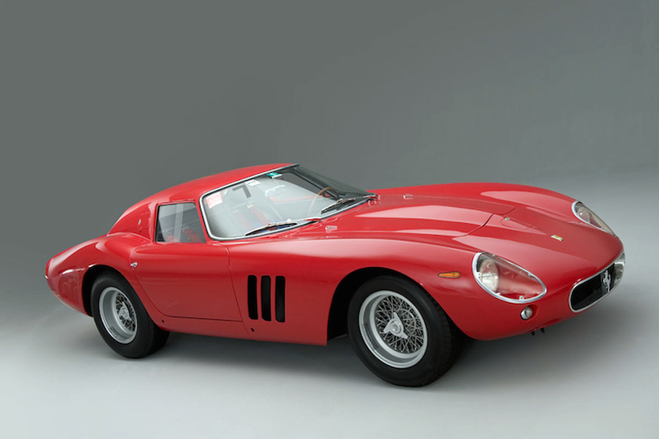 Classic Ferraris vs Other Collectibles: Infographic