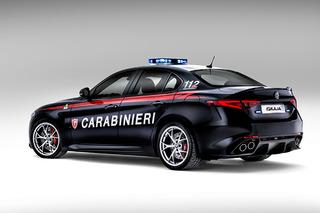 Italian Police Get Two 190-MPH Alfa Romeo Cop Cars