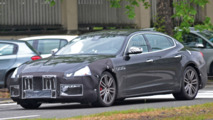 2017 Maserati Quattroporte spy photos new fascias
