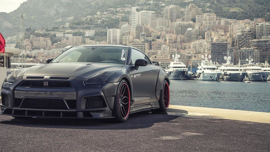Prior Design dresses up 720 bhp Nissan GT-R with wide body kit