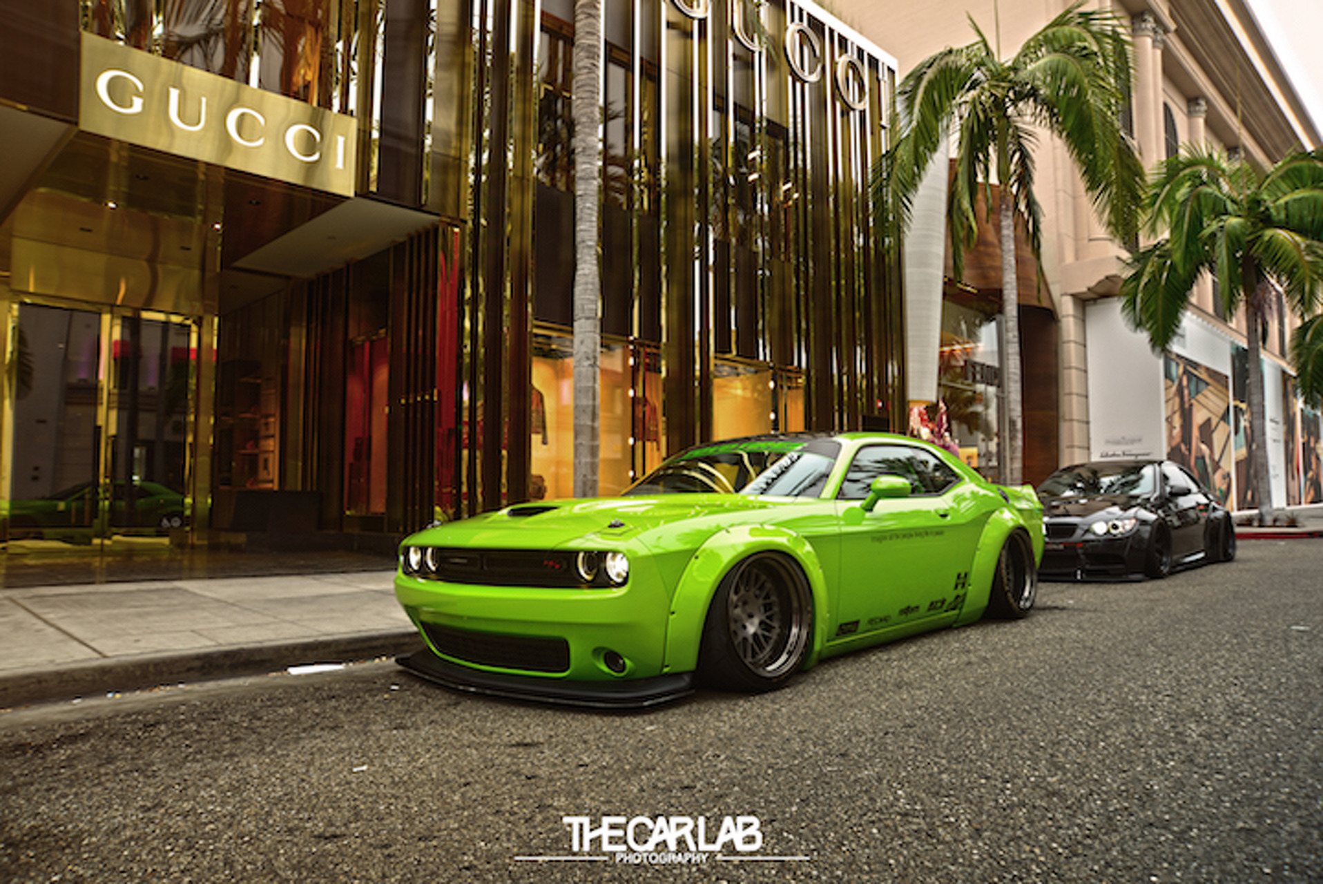 Liberty Walk Dodge Challenger #ProjectHulk is as Mean and Green as They Get