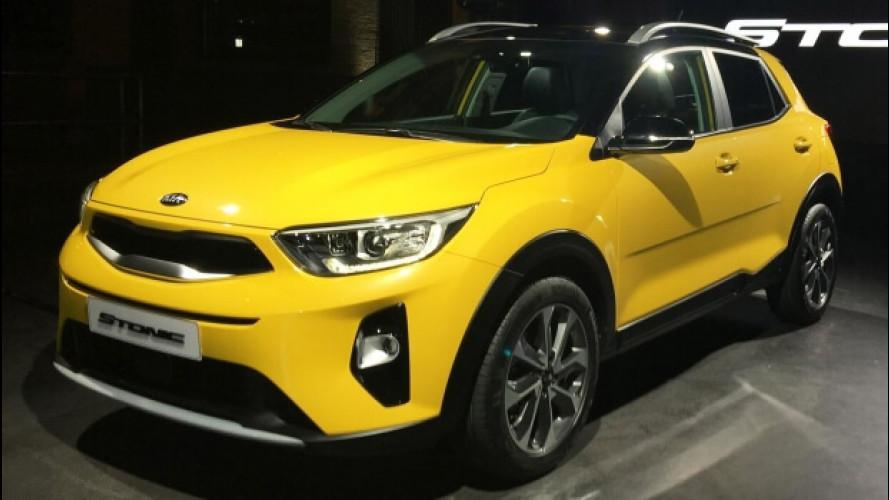 Kia Stonic, il SUV compatto secondo Kia
