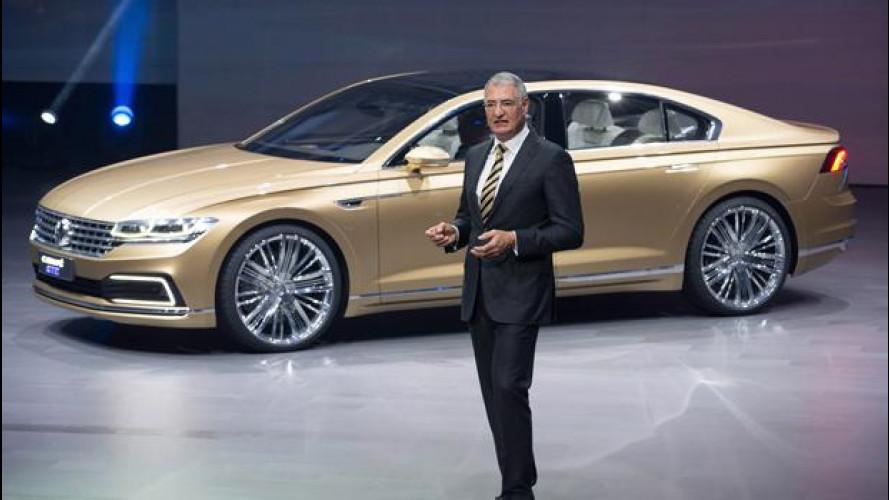 Salone di Shanghai: Volkswagen C Coupé GTE, la berlina