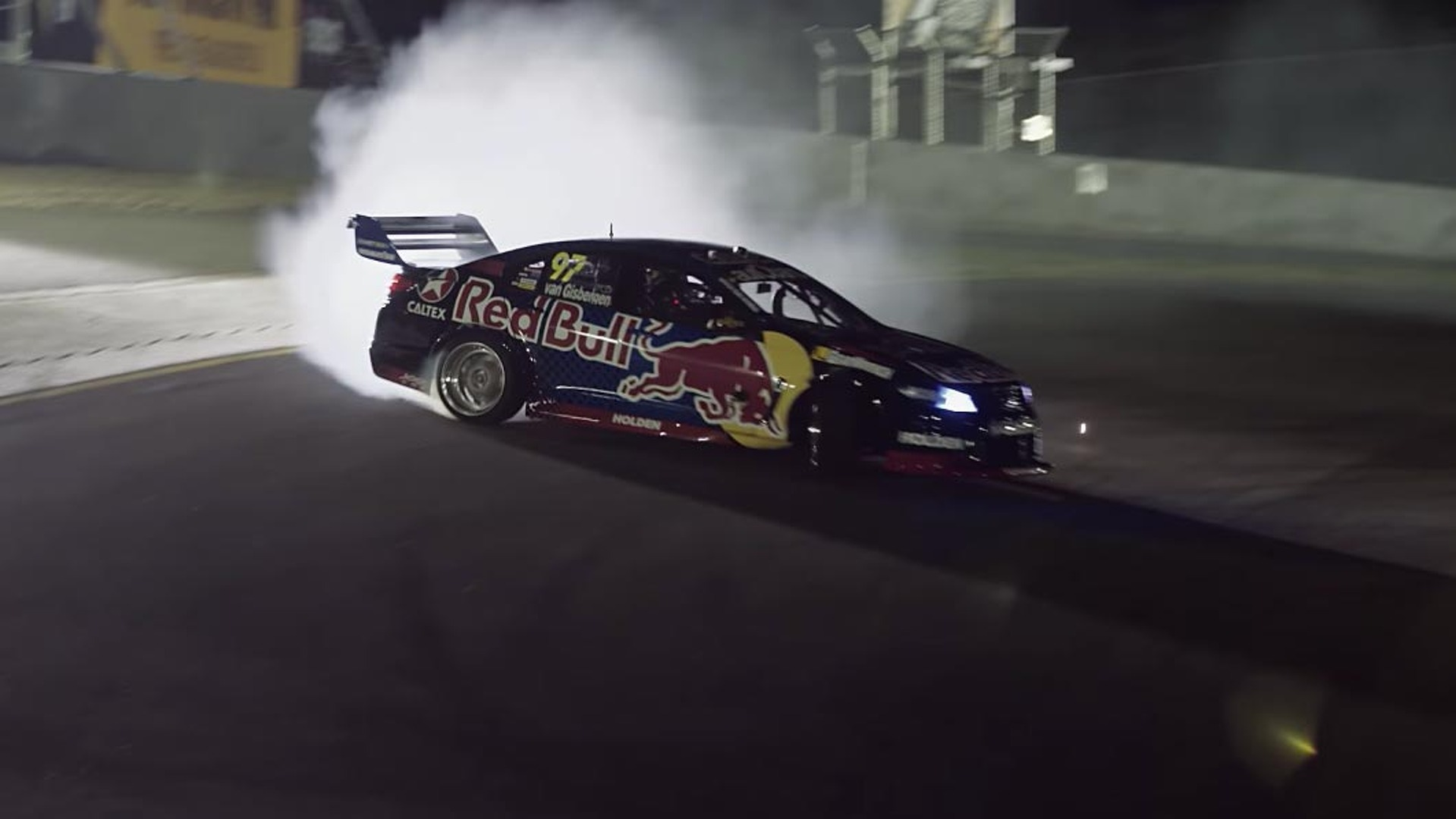 Red Bull Converts Holden Commodore Supercar Into A Drift Monster