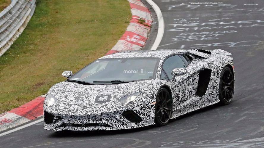 Lamborghini Aventador S - Rendez-vous à Genève ?
