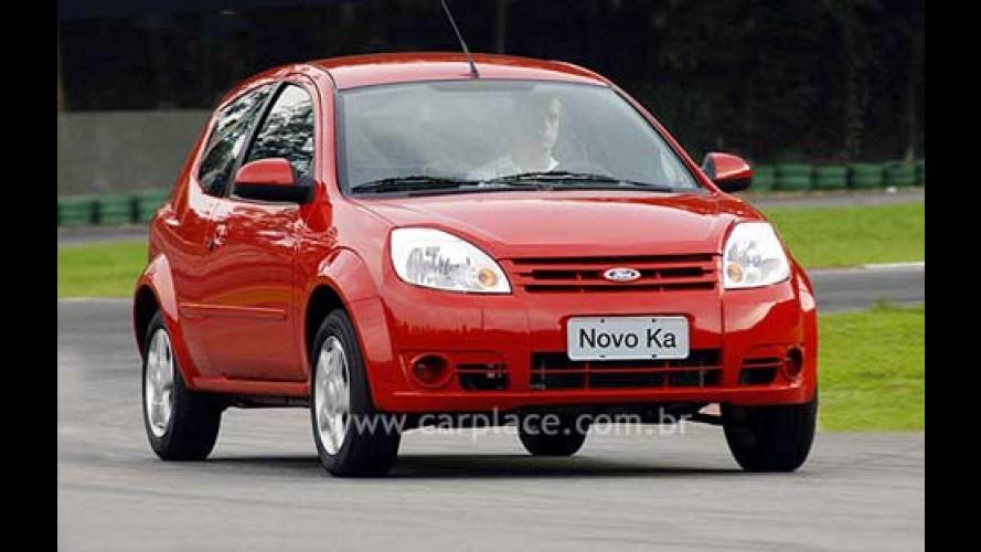 Novo Ford KA 2008 chega por R$ 25.190 e traz mais itens de série