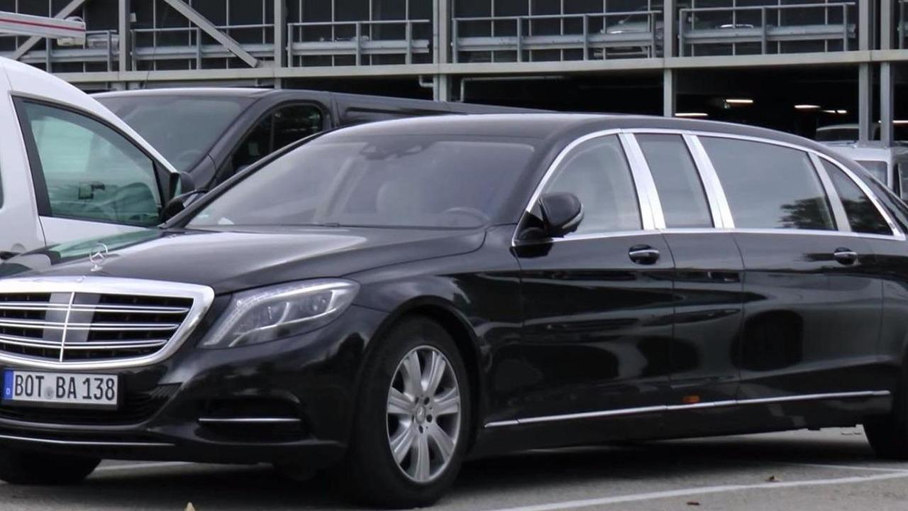 Mercedes-Maybach S600 Pullman
