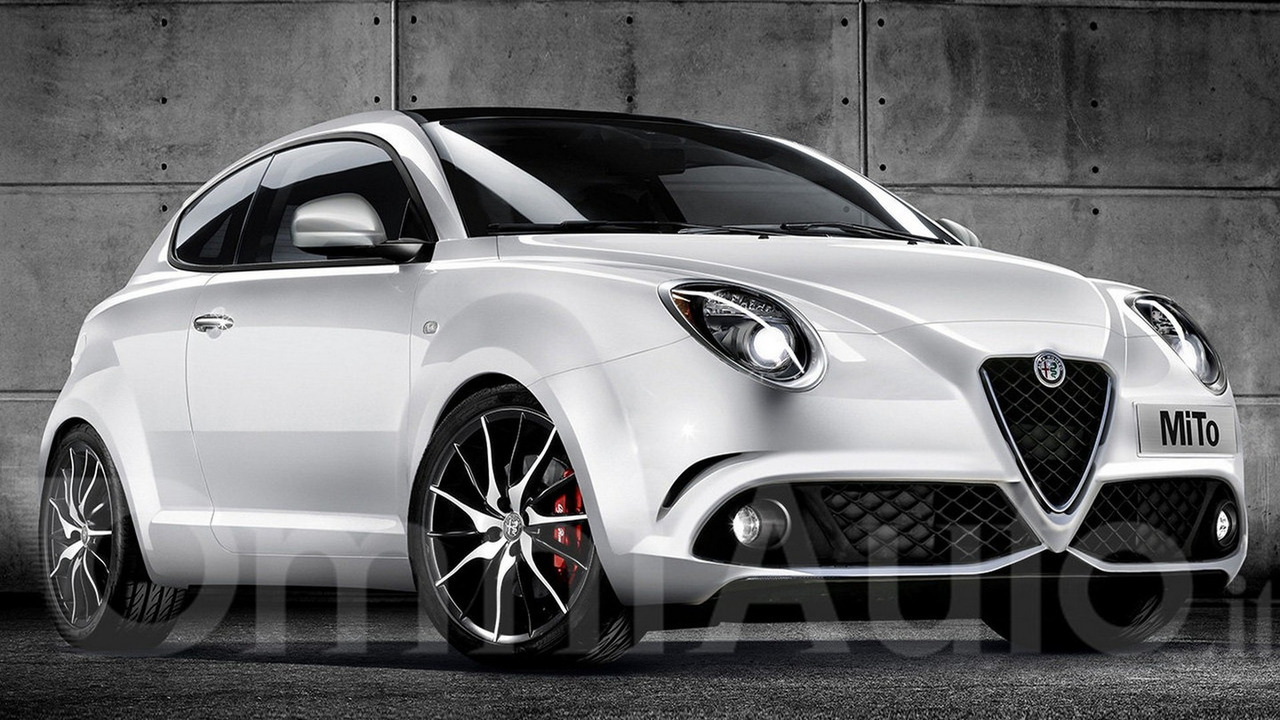 Alfa Romeo MiTo facelift render