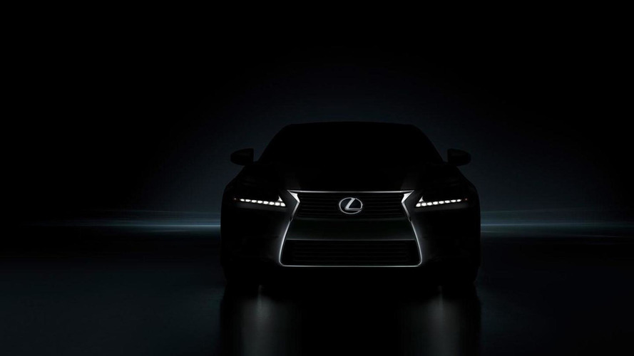 2012 Lexus GS teased