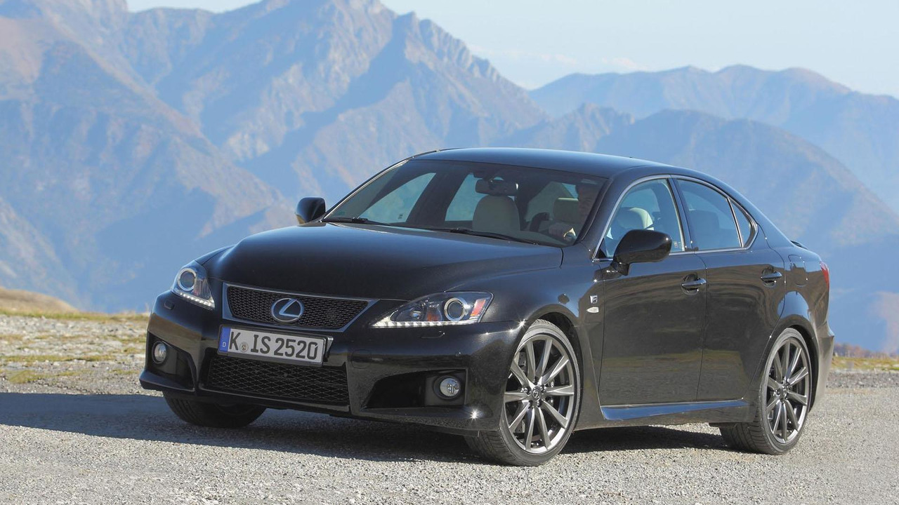 2012 Lexus IS-F (Euro-spec) - 11.8.2011