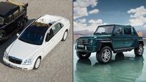 Mercedes-Maybach G650 Landaulet vs 62 S Landaulet