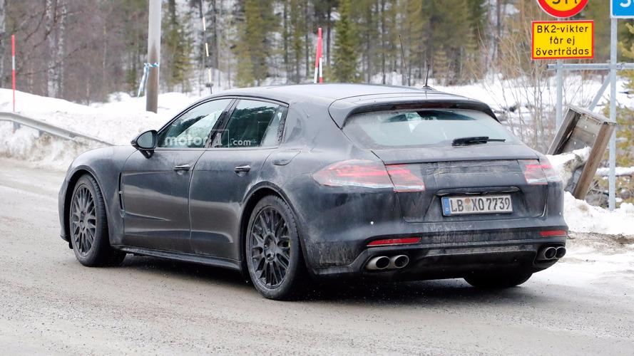El Porsche Panamera Sport Turismo, espiado mientras espera su debut en Ginebra