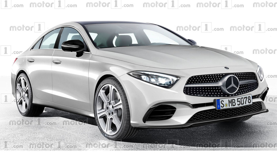 2018 Mercedes CLS Rendering Previews Evolutionary Design