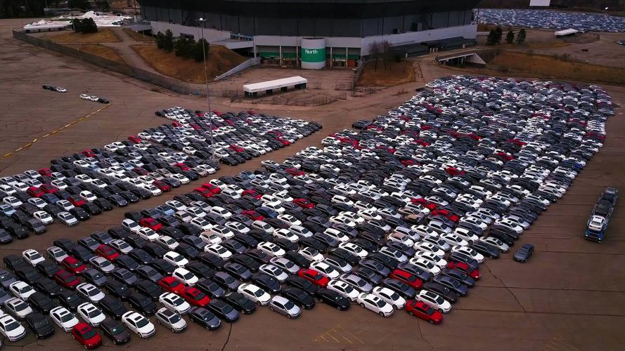 VW Buyback Pontiac Silverdome Photo Gallery