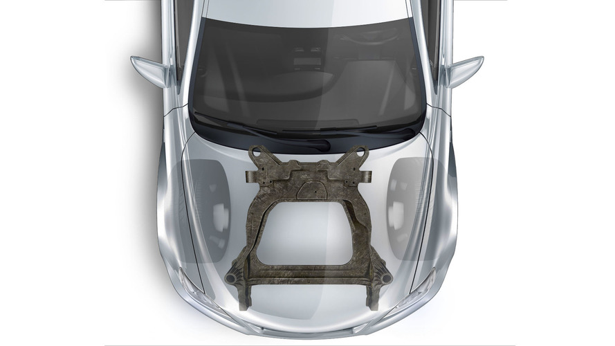 Ford, Magna co-develop first carbon fibre subframe