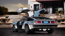 DeLorean EV travels back from the future