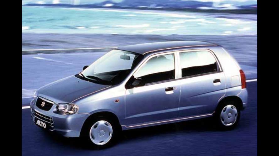 Sprit-Gutscheine bis zu 1.000 Euro bei Neukauf eines Suzuki