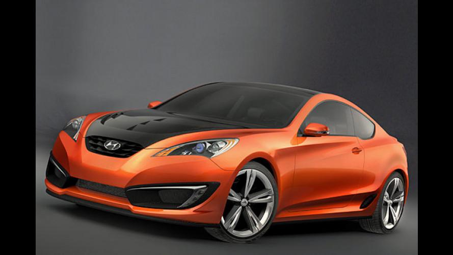 Hyundai gibt Gas: Coupé-Nachfolger kommt 2009