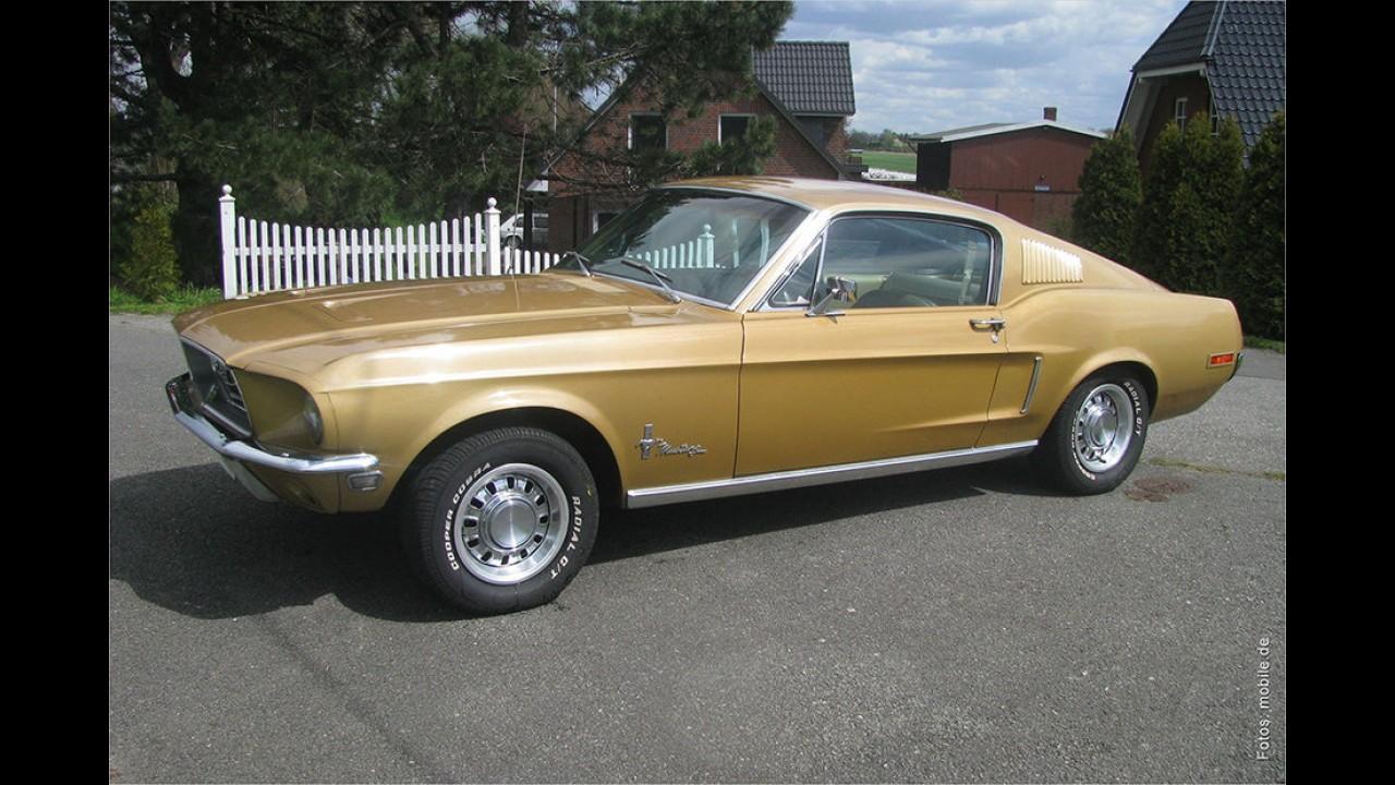 1968er Ford Mustang Fastback von Tim Mälzer