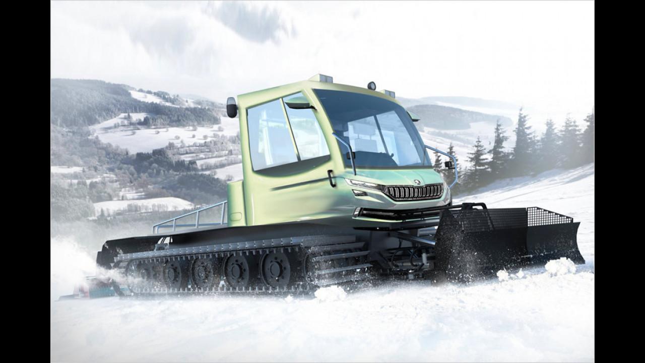 Skoda: Bald kommt der Snowman!