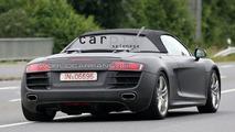 Audi R8 Targa First Spy Shots