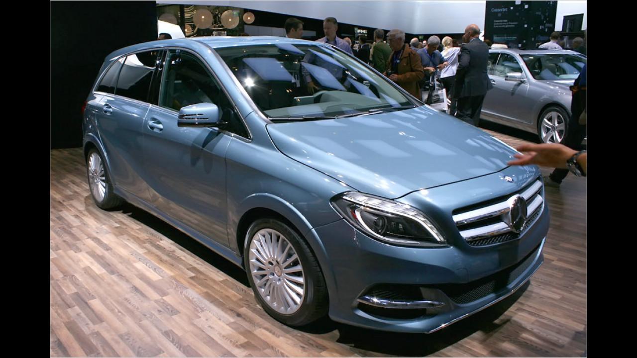 Mercedes Concept B-Class Electric Drive