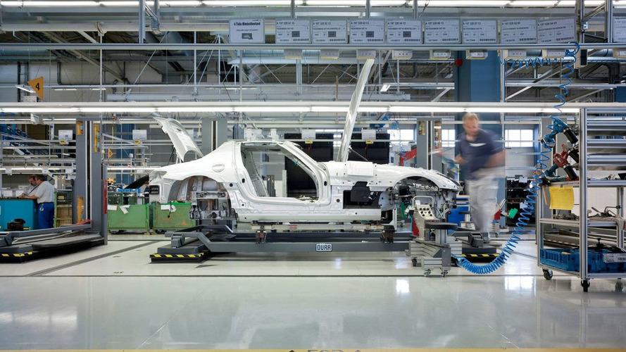Mercedes-Benz SLS AMG Production Begins