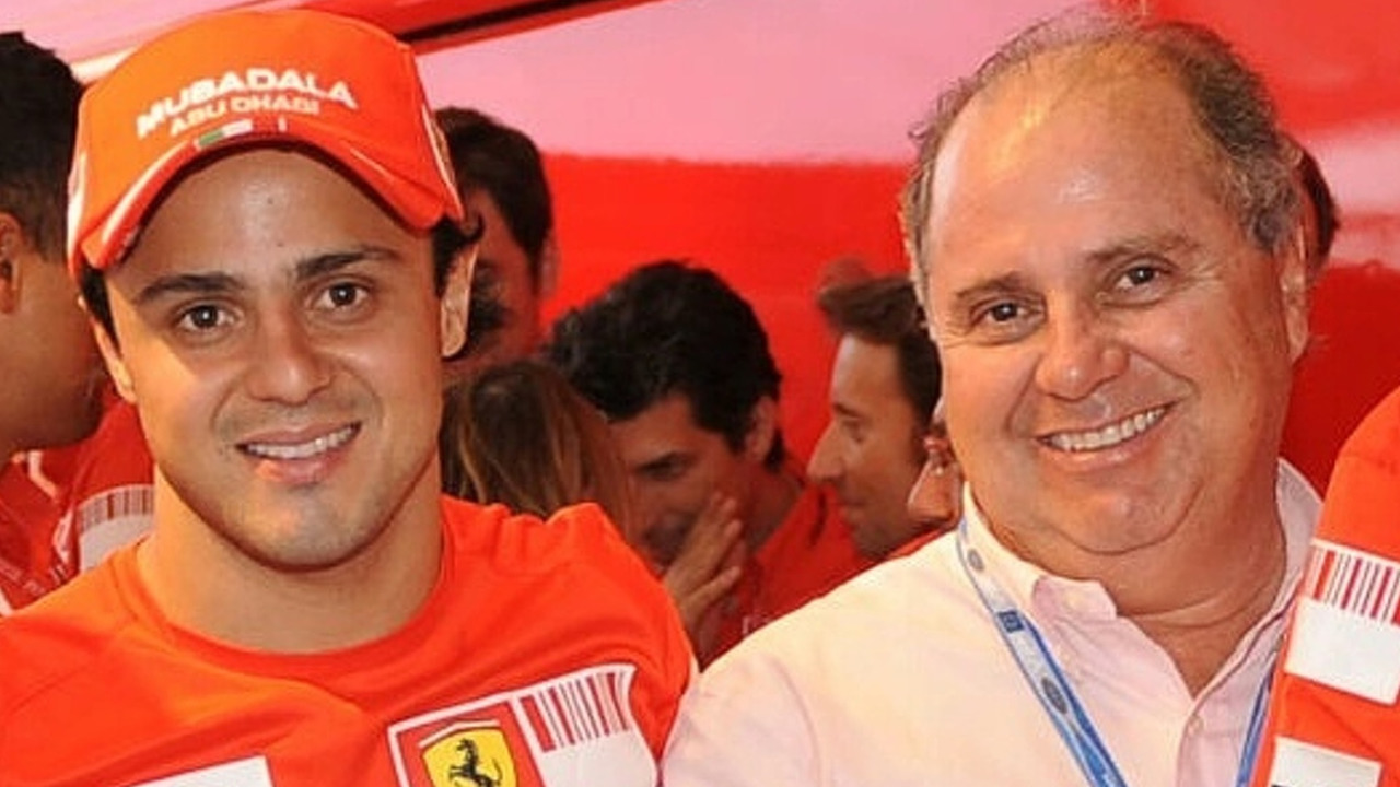 Felipe Massa and his Father Luiz Antonio