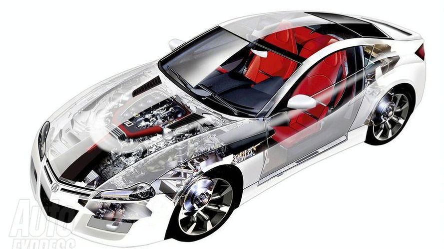 Honda NSX See-Through Technical Illustration Leaked