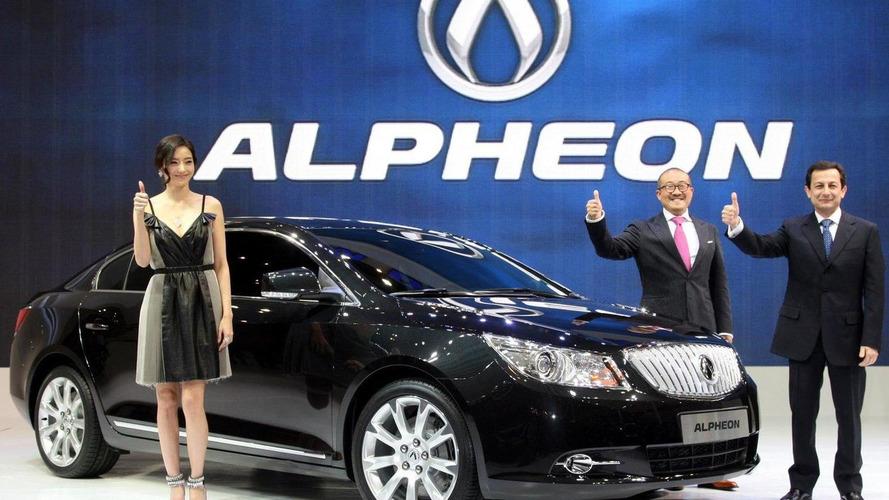 Buick LaCrosse rebadged as GM Daewoo Alpheon in Korea