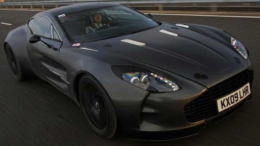 Aston Martin One-77 Testing [Video]